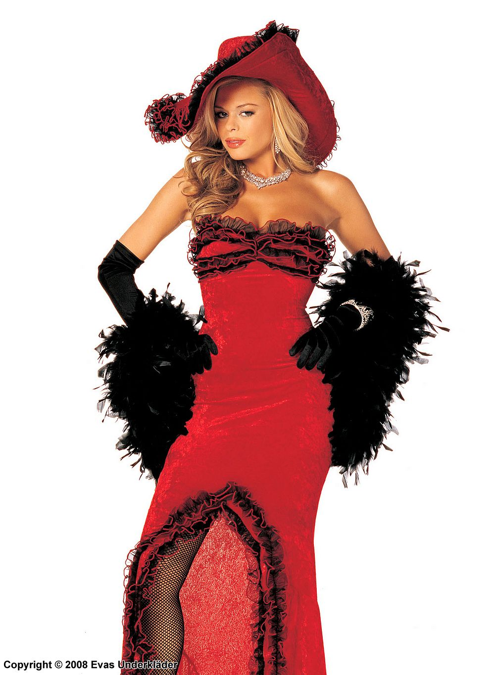 Adult costume mae west